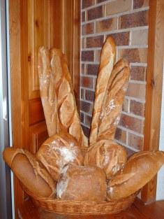 pains de la boulangerie pâtisserie bernard